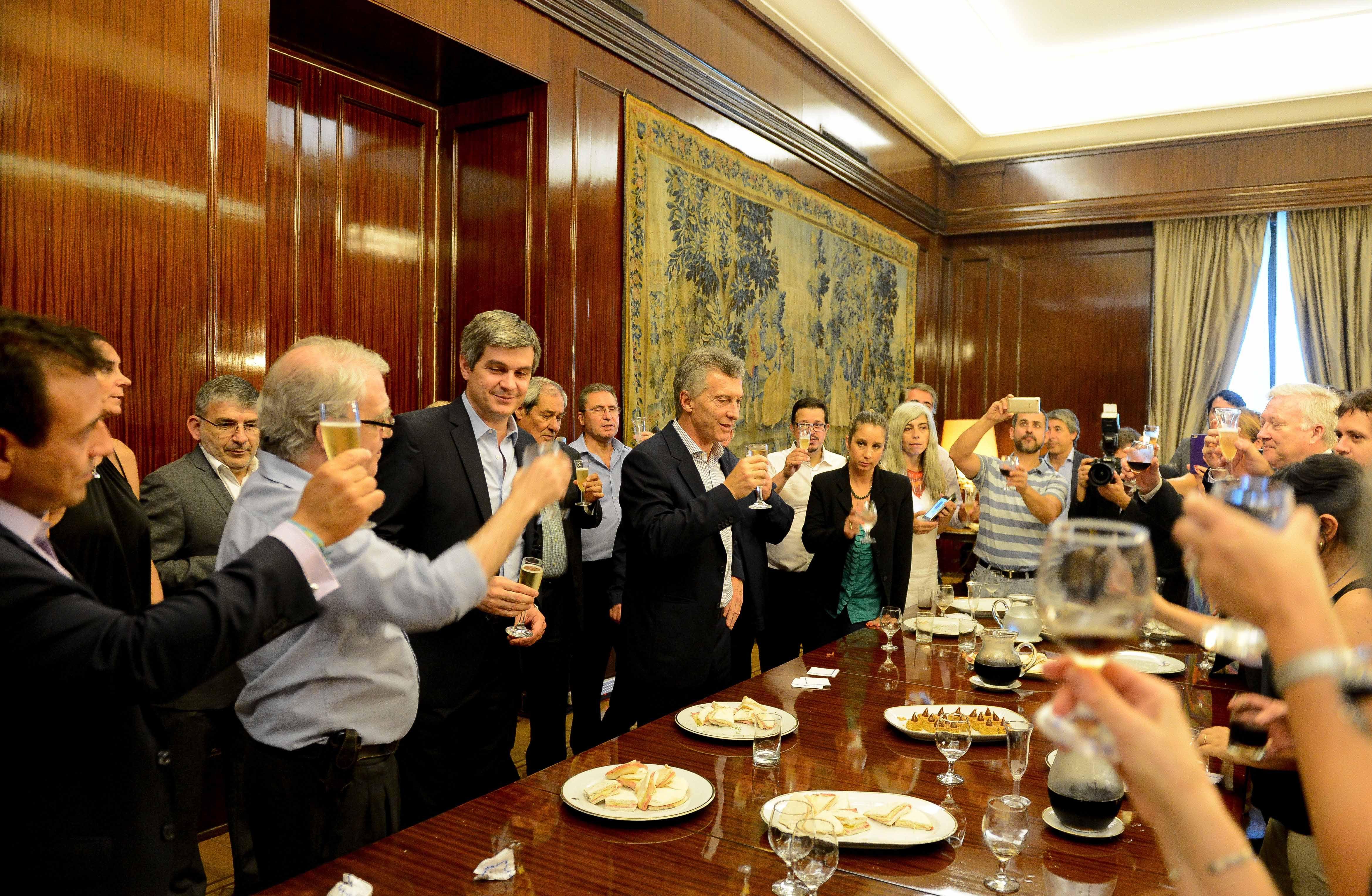El presidente Macri realizó un particular balance de su primer año de gestión