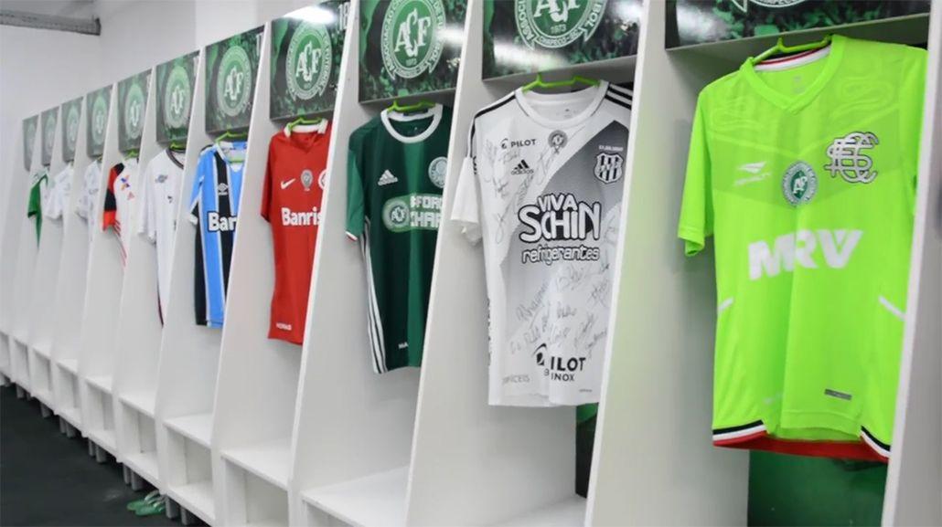 Chapecoense agradece a los clubes brasileños: Gracias, somos más que 11
