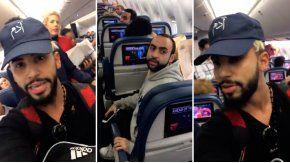 Echaron a un youtuber de un avión por hablar árabe