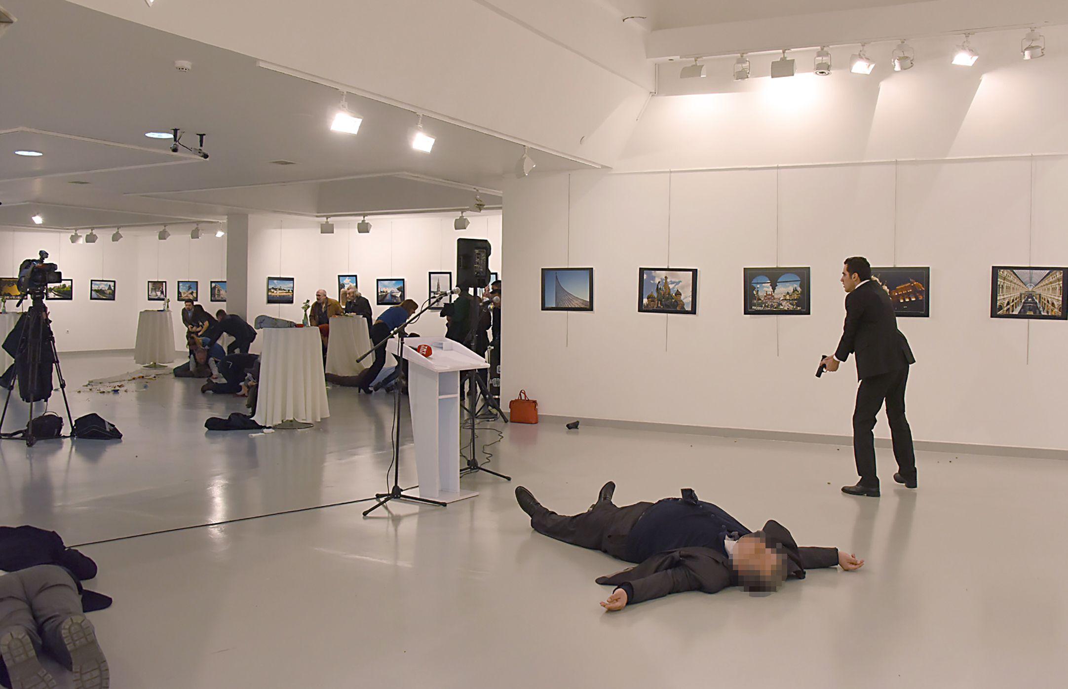 El crimen del embajador ruso en Turquía