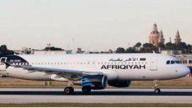 Así es el avión que secuestraron y desviaron a Malta