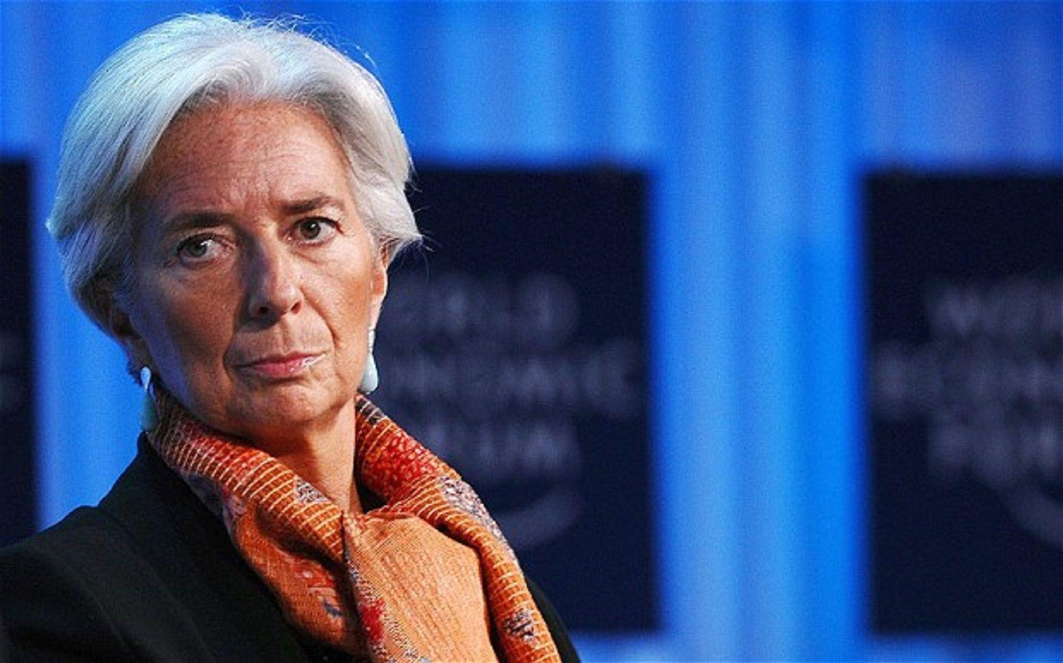 Christine Lagarde, jefa del FMI