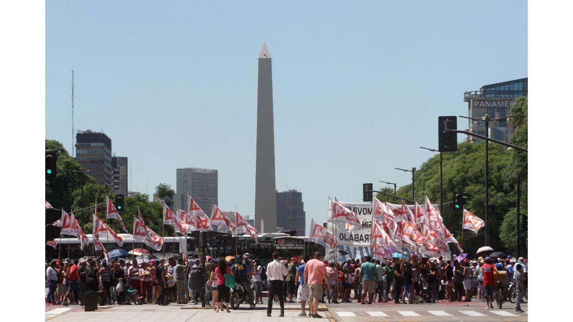 Protestas en 9 de Julio