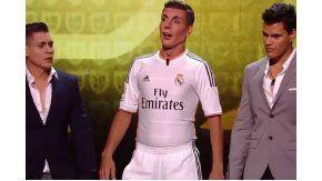 Martín Bossi imitó a Cristiano Ronaldo
