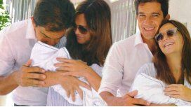 Las primeras fotos de Amalia Granata y su bebe