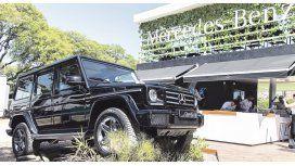 Mercedes-Benz expuso el nuevo modelo G500