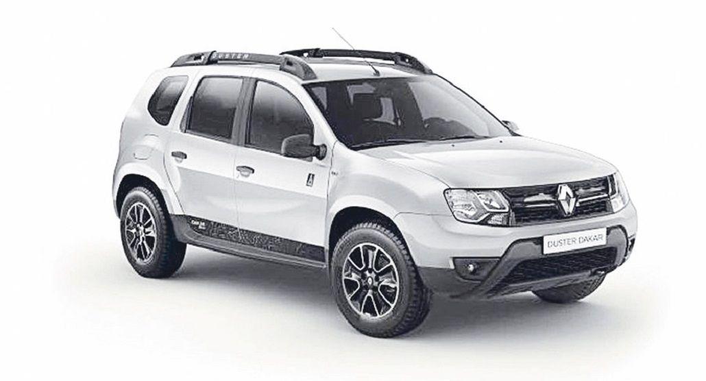 Renault lanzó una edición limitada del compacto Duster denominado  Dakar