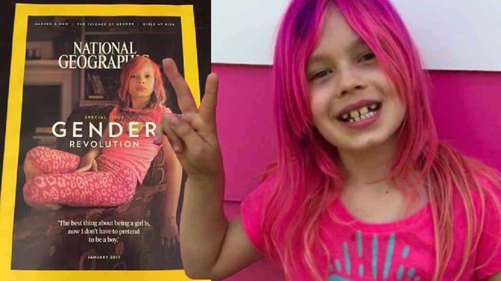 Primera tapa de National Geographic con una chica trans