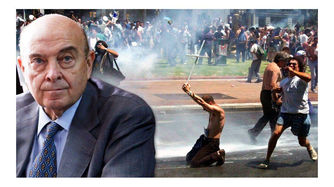Cavallo no se hizo responsable de la caída del Gobierno de Fernando De la Rúa