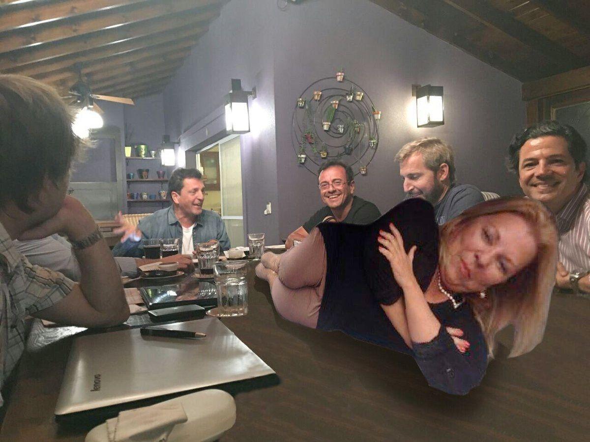 Uno de los memes que circuló tras la reunión entre Frigerio y Massa