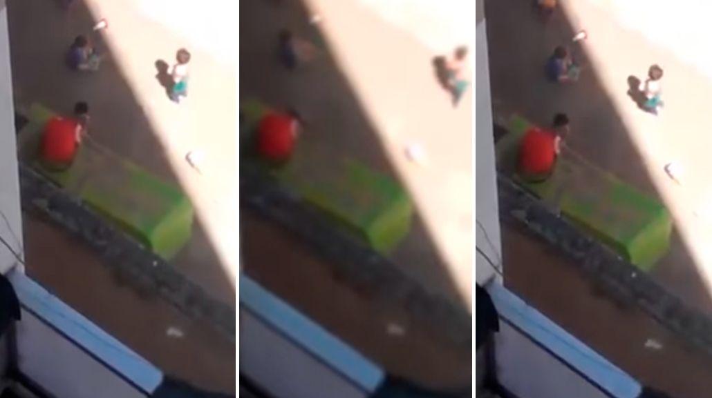 El video de un bebé llorando en un jardín causó indignación