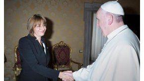 Gils Carbó, con el Papa en el Vaticano