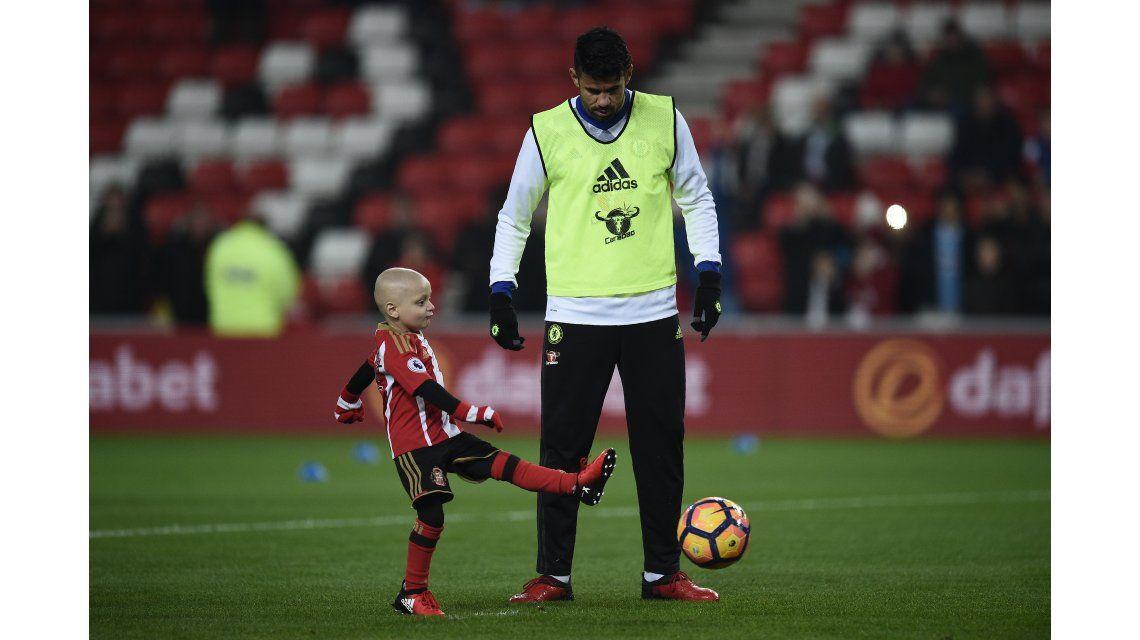 Emotivo: el nene con cáncer que cumplió su sueño de meter un gol en la Premier