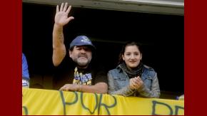 Diego Maradona estalló otra vez contra Claudia Villafañe