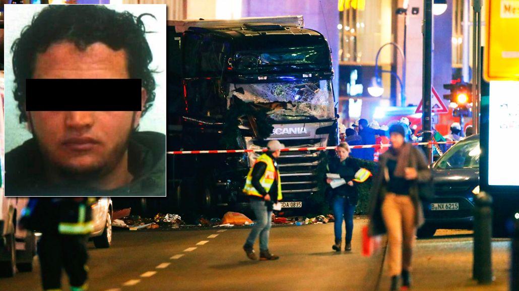 La policía alemana busca a un tunecino por el atentado de Berlín