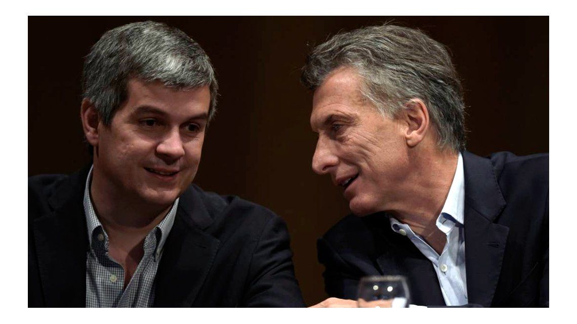 Mauricio Macri y Marcos Peña