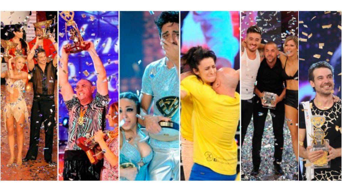 Los ganadores del Bailando