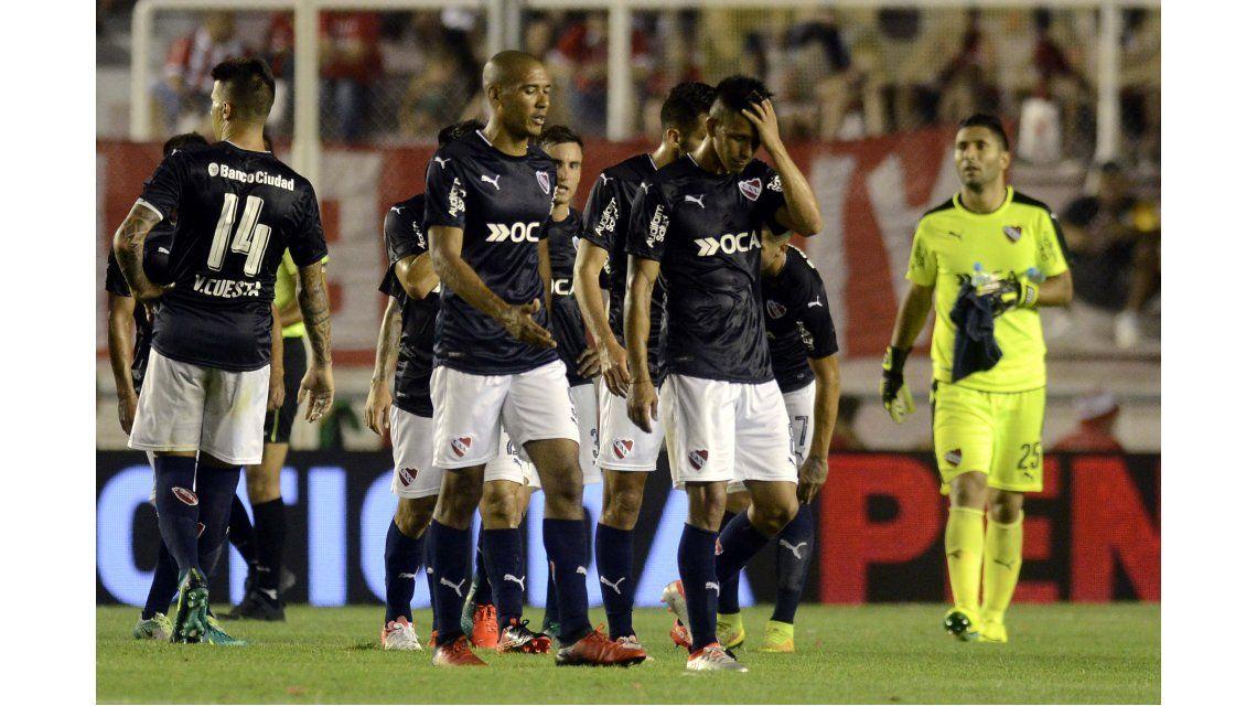 Independiente perdió 1-0 contra Banfield