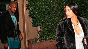 Kim Kardashian y Kanye West, juntos
