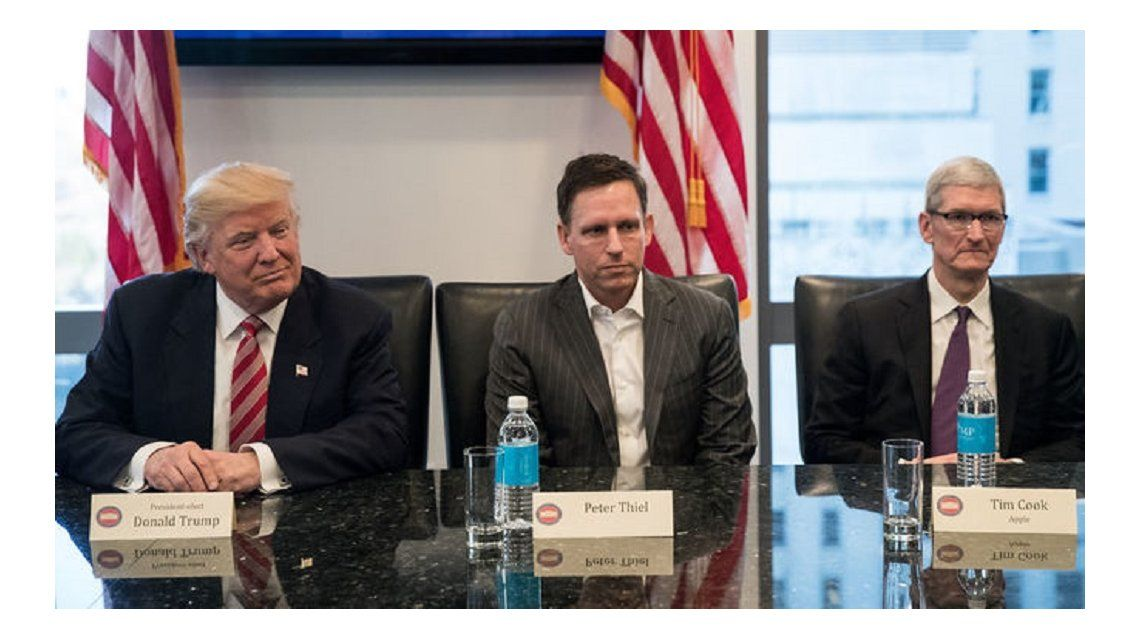 Donald Trump se reunió con ejecutivos de Silicon Valley