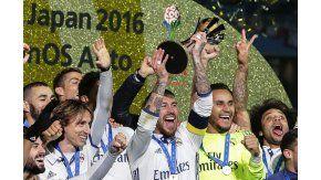Sergio Ramos levanta un nuevo título para los madrilenses