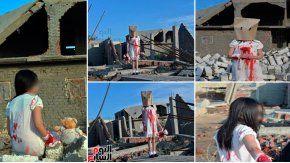 Los falsos nenes de Alepo que fueron parte de un montaje