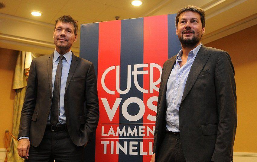 Lammens y Tinelli conducirán el club por cuatro años más