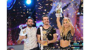 Así festejaron Pedro Alfonso y Flor Vigna, los campeones del Bailando 2016