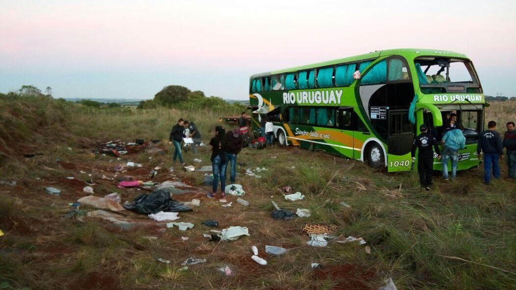 El accidente ocurrió en el sur de Brasil