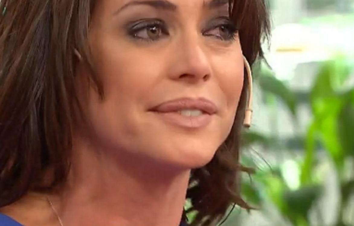 Pamela David se quebró en vivo
