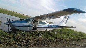 Avioneta abandonada