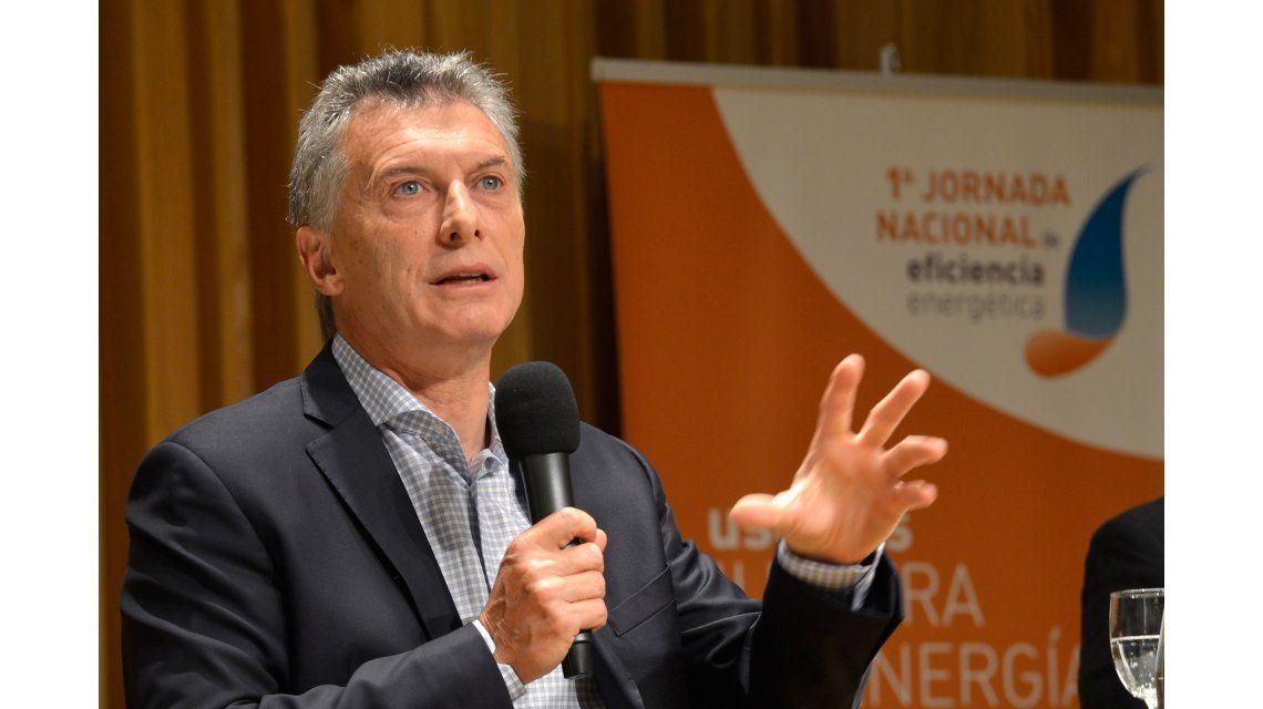 Macri asegura que goza de un alto respaldo popular