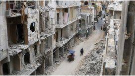 La destrucción en Siria, desde un drone