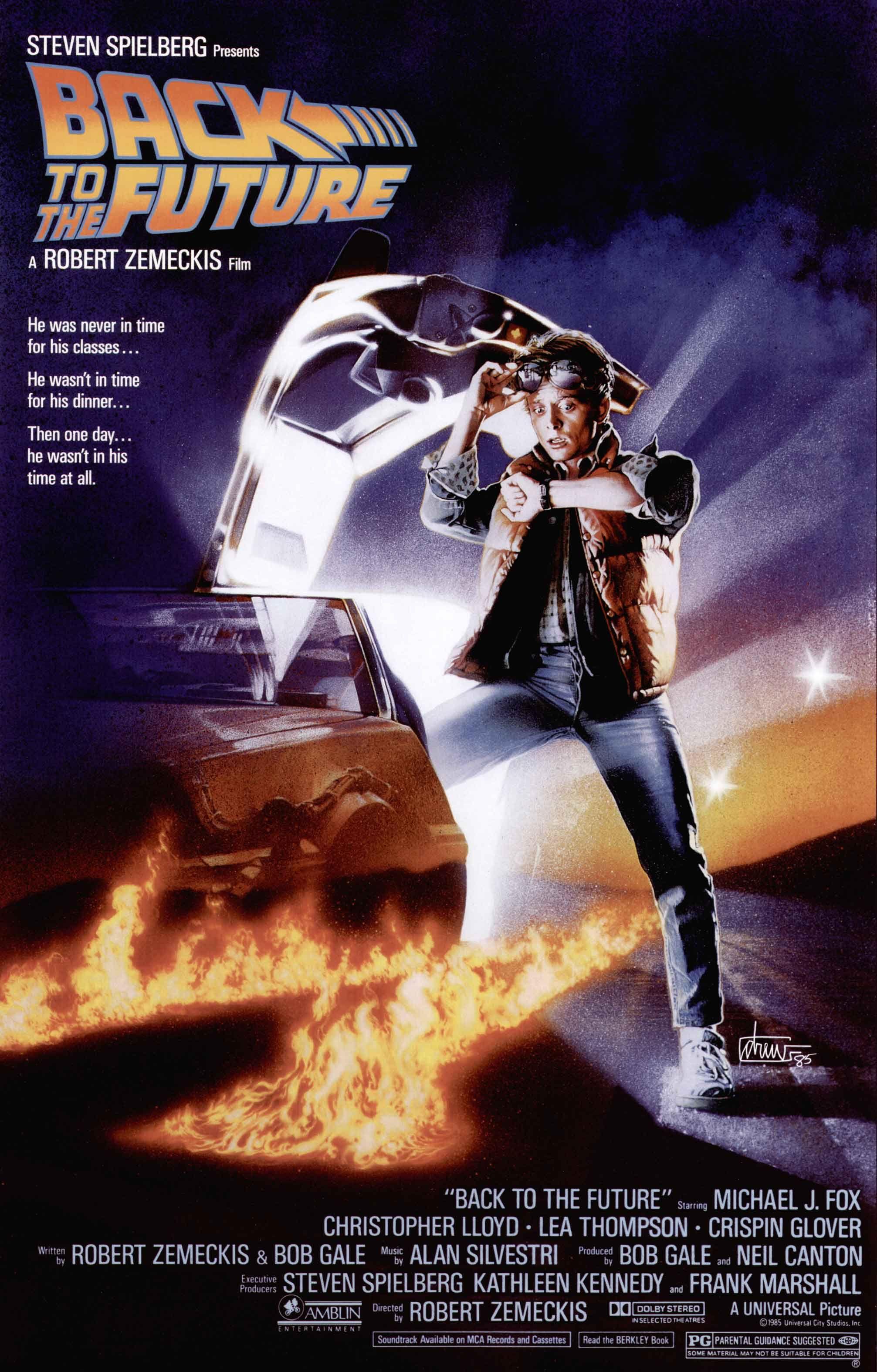 Marty no hubiese vuelto al futuro así