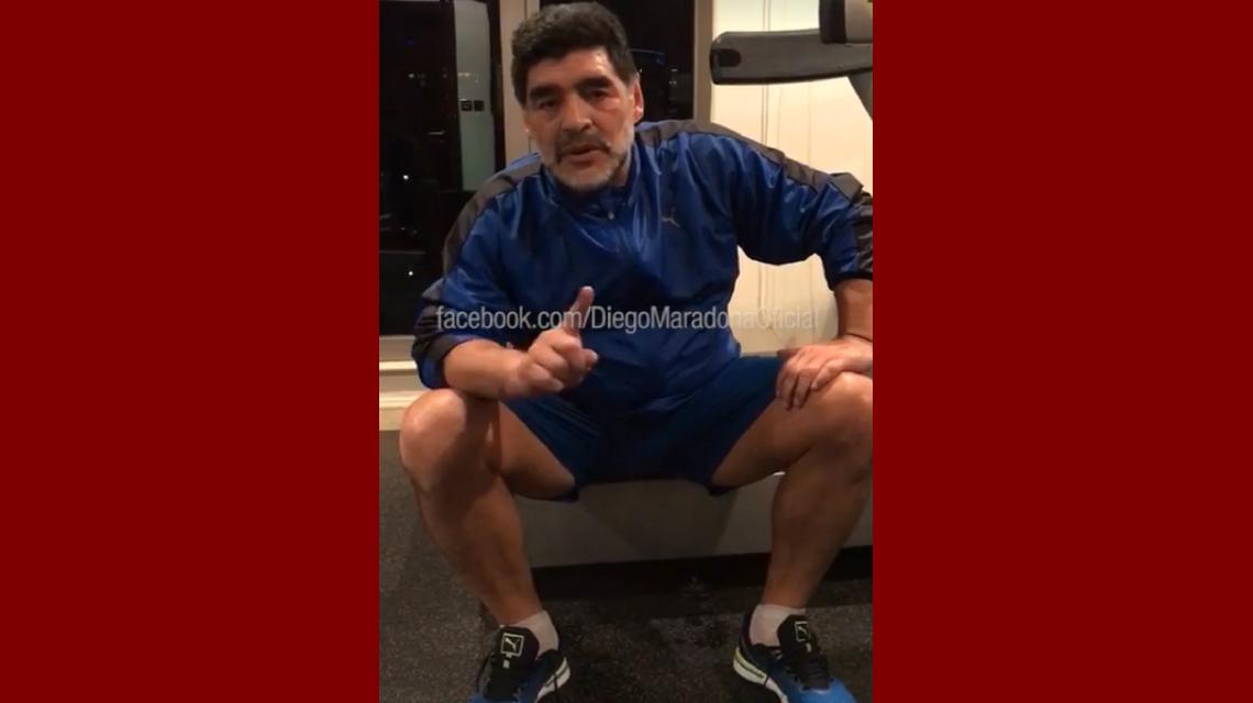 Diego Maradona volvió a bancar a Venezuela: Viva la revolución