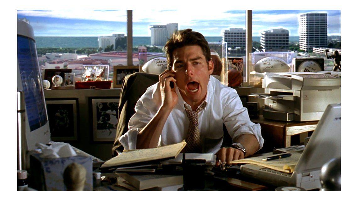 Jerry Maguire se estrenó en diciembre del 96