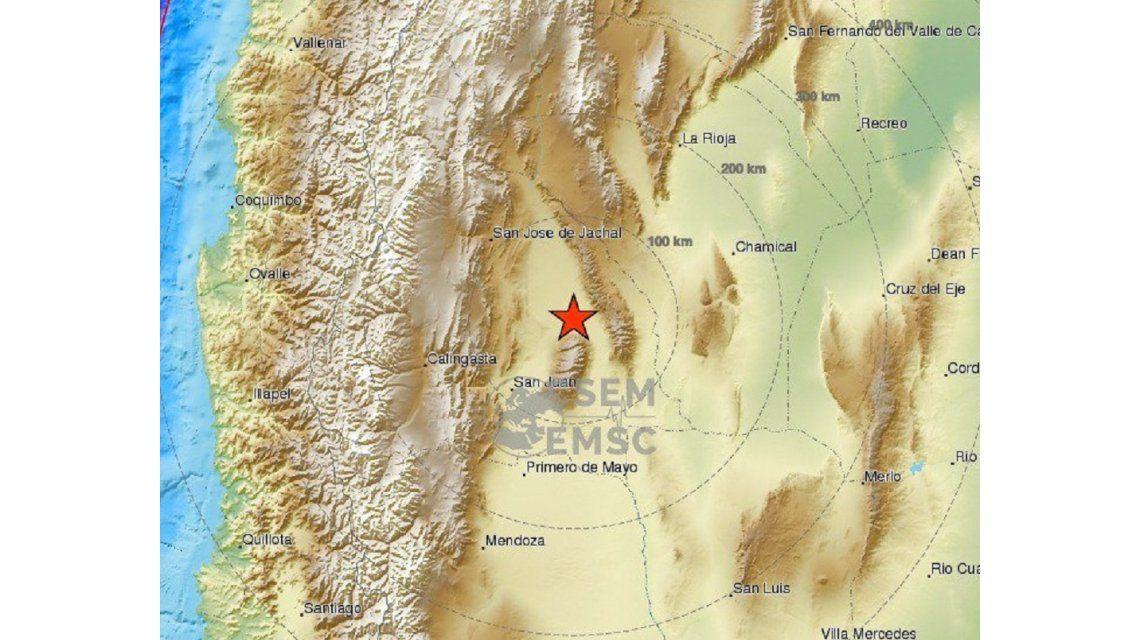 Varios terremotos sacudieron San Juan-@SismoMundial