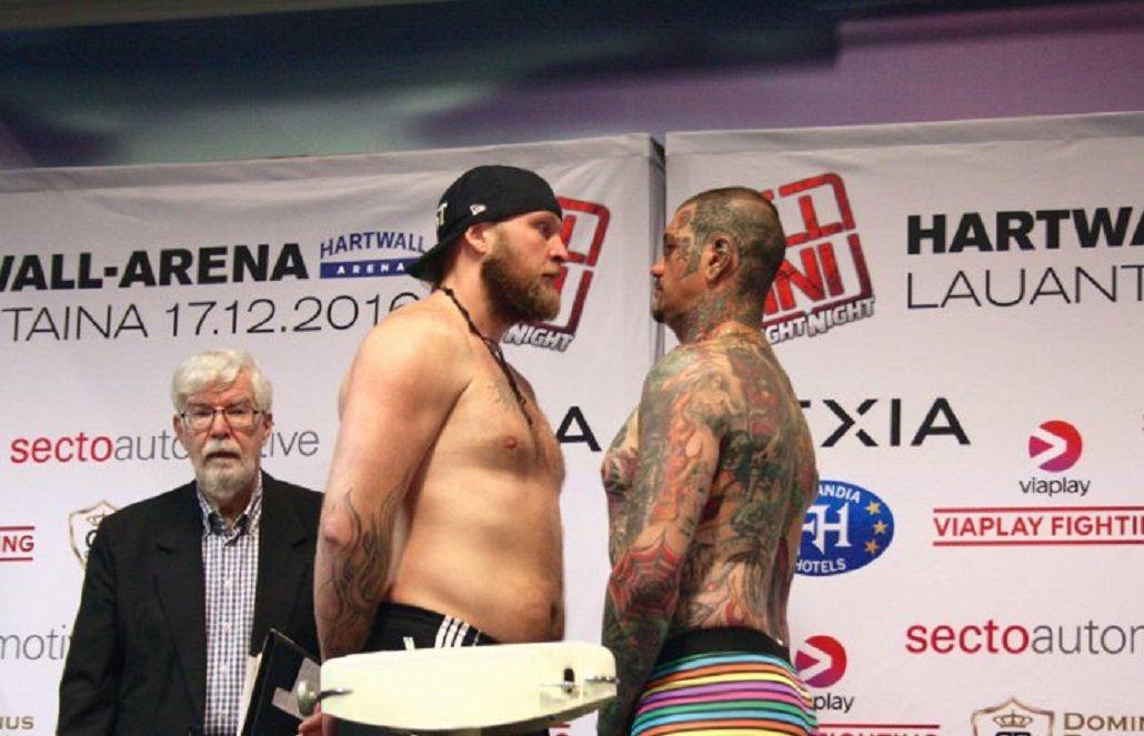 El boxeador argentino no duró ni un round