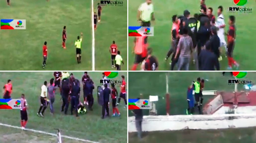 Un jugador agredió a un árbitro en Jujuy.
