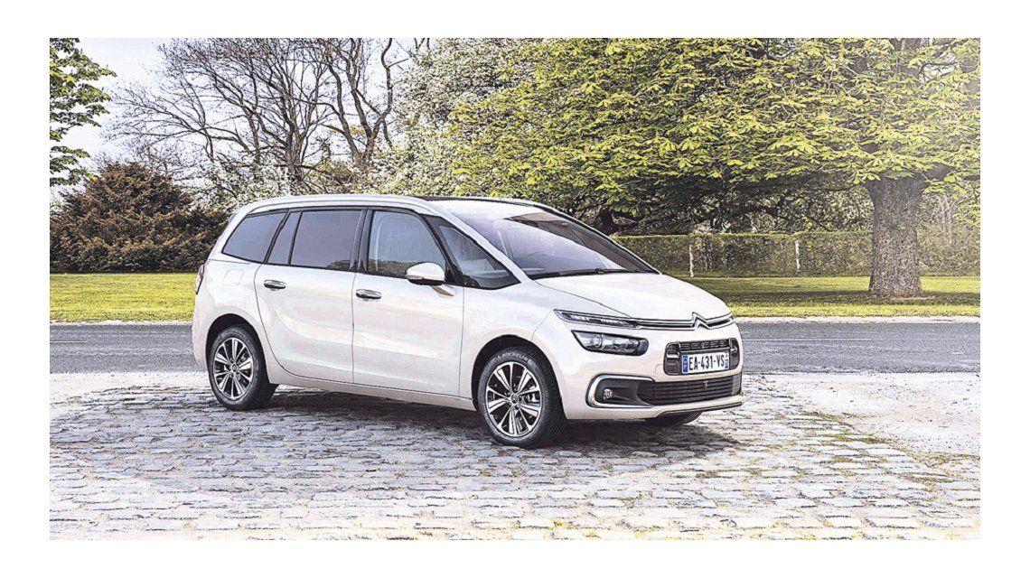 Citroën puso a la venta los C4 Picasso y C4 Grand Picasso