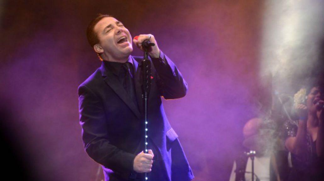 Cristian Castro dio un recital gratis