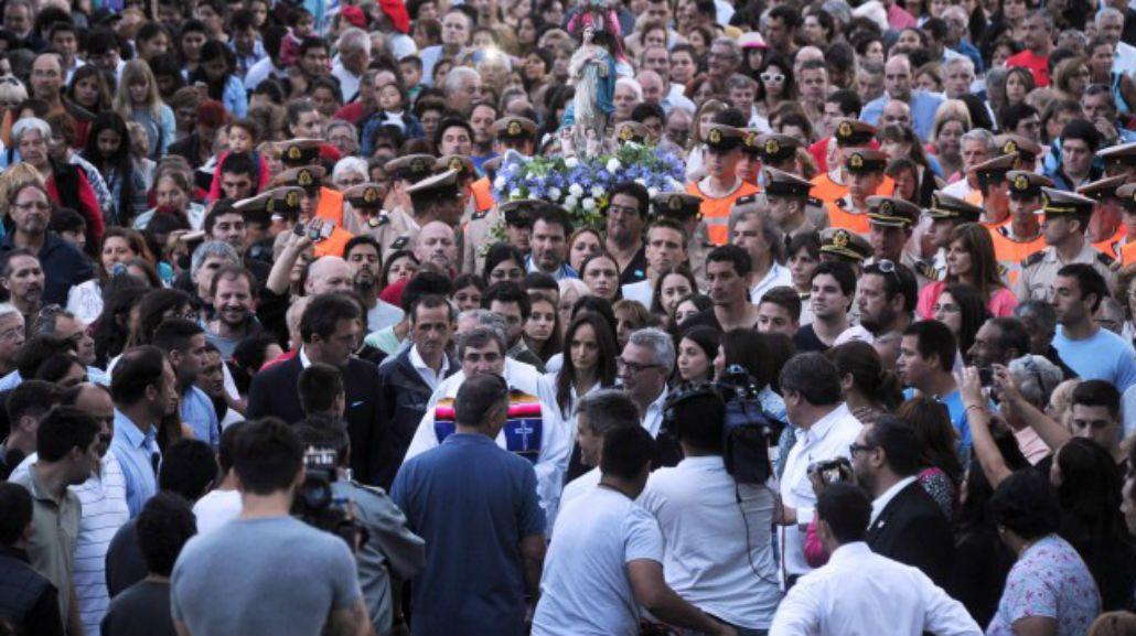 Masiva participación en los festejos por el Día de la Virgen en Tigre