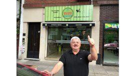 Tití Fernández abrió un local de empanadas