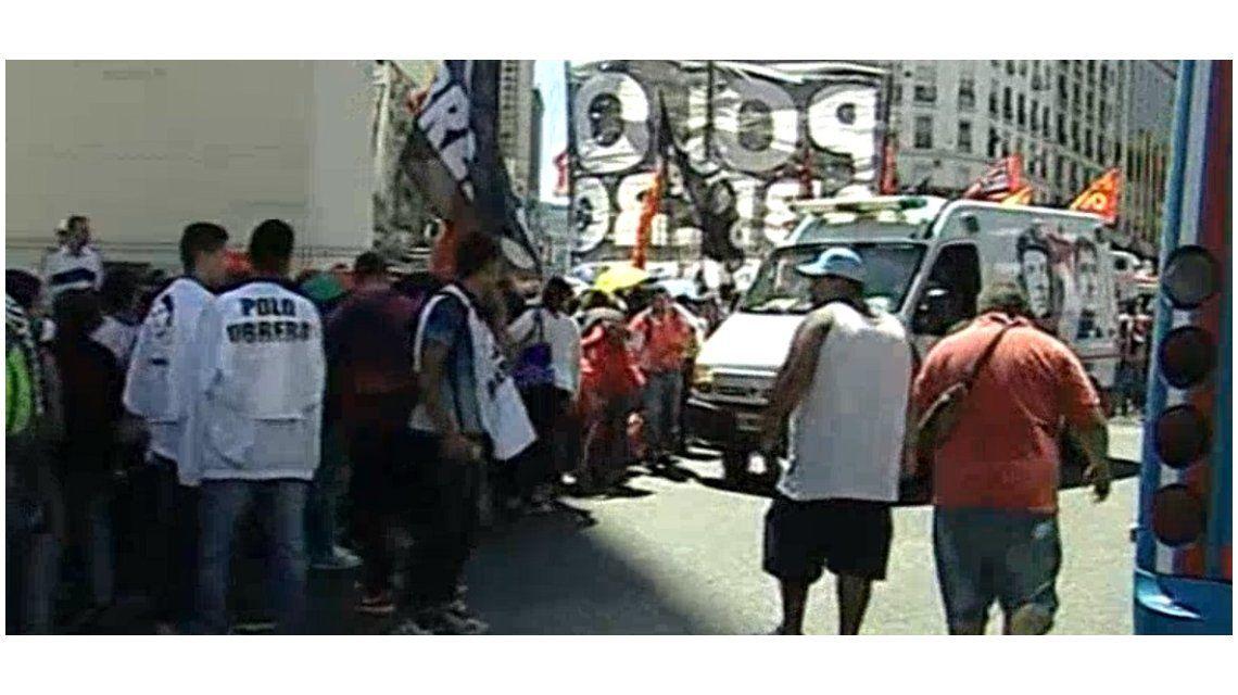 El Polo Obrero encabeza la manifestación