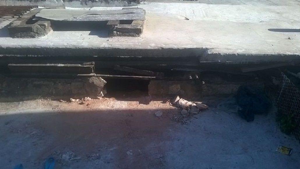 Nueve presos se escaparon por el techo de la comisaría 13 en Rosario