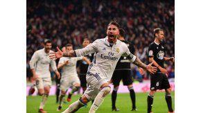 Sergio Ramos, otra vez el héroe de Madrid