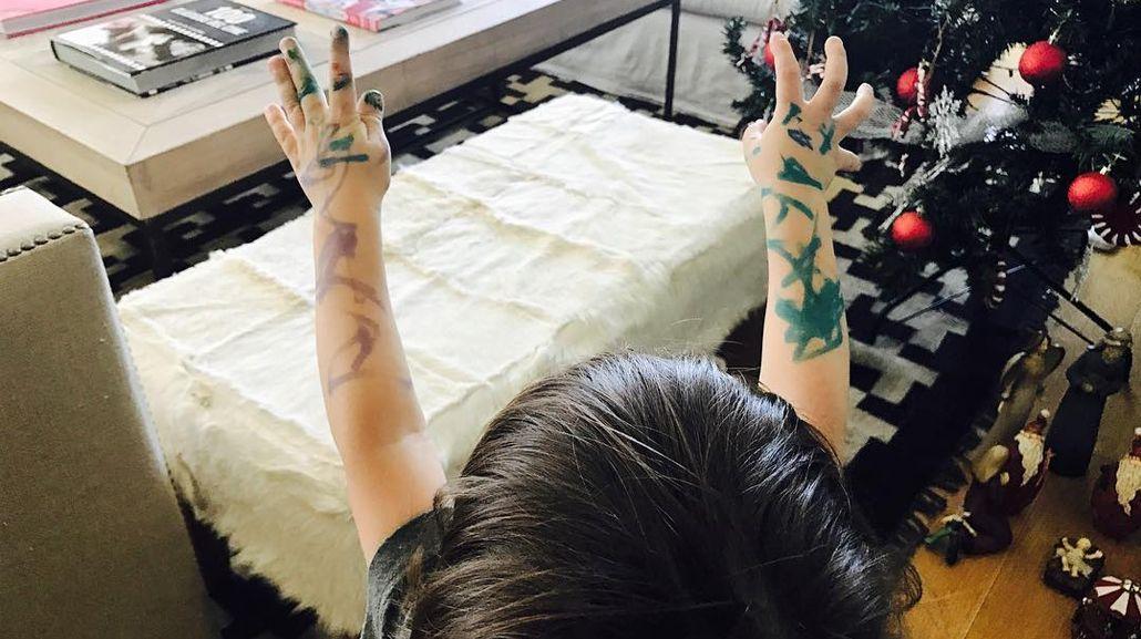 Lorenzo Tinelli se tatuó los brazos como Marcelo