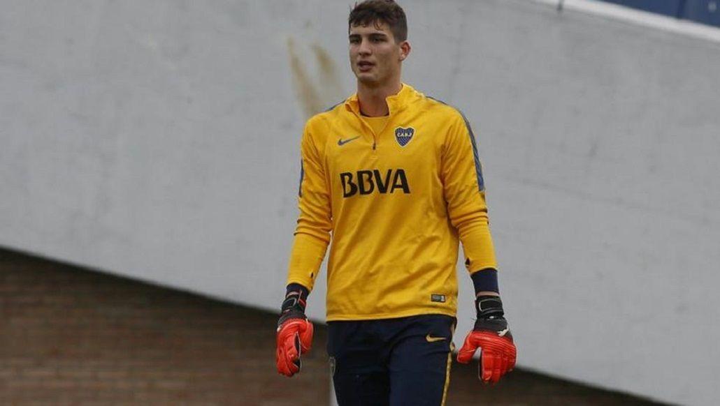 Werner debutará oficialmente con la camiseta de Boca