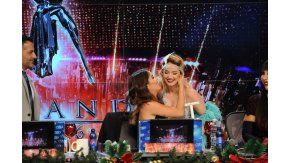 Lali Espósito se reencuentró con Ángela Torres en ShowMatch