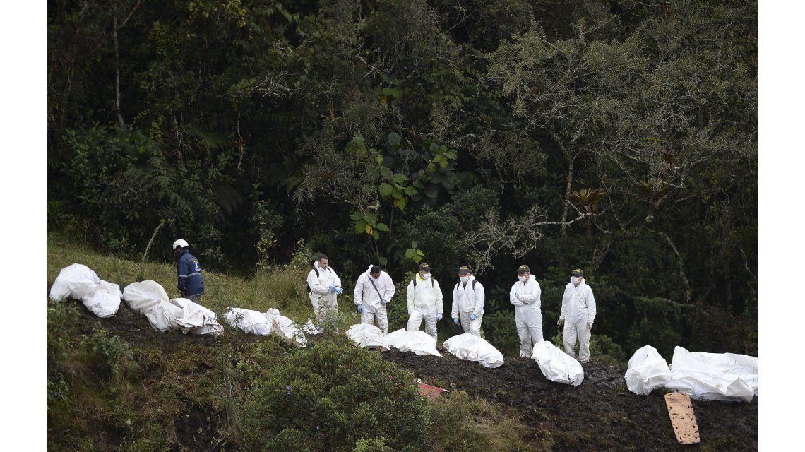 Así retiraban los cuerpos de la tragedia de Chapecoense